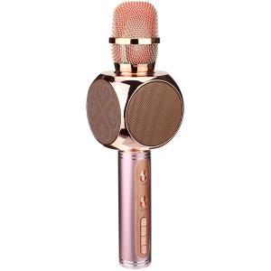 Микрофон караоке YS-63 USB/microSD встроенная колонка